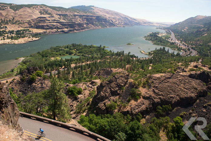 The mighty Columbia River in Oregon.