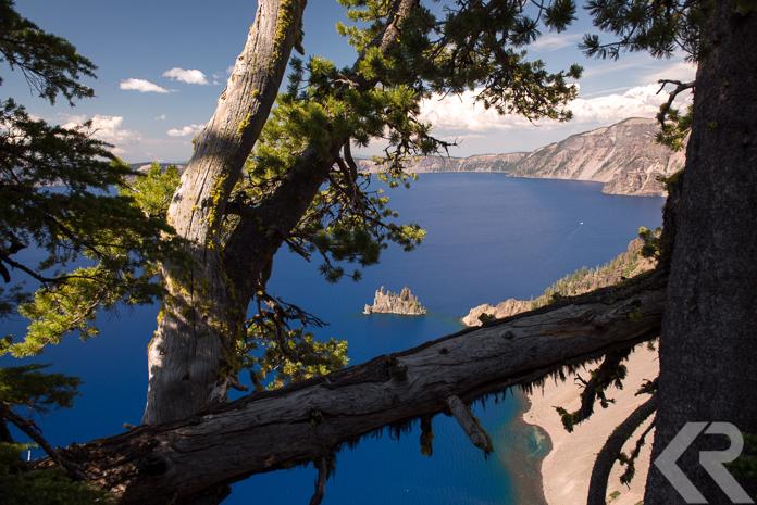 Phantom Ship in Crater Lake
