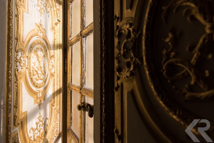 Winter light in Versailles