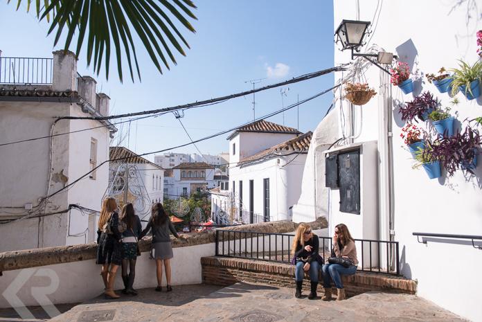 Ladies in old town Marbella